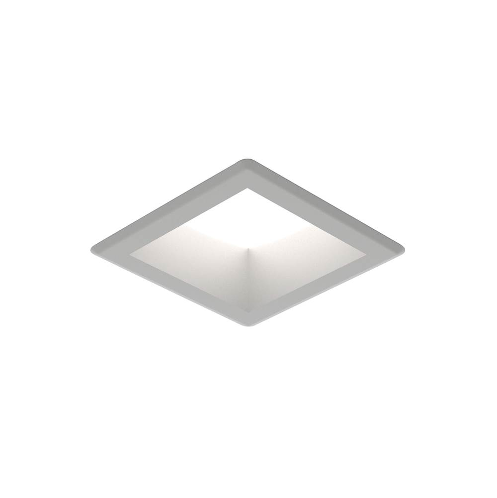 Generation Lighting 6in Traverse Unlimited Square 3000K 90CRI Satin Nickel