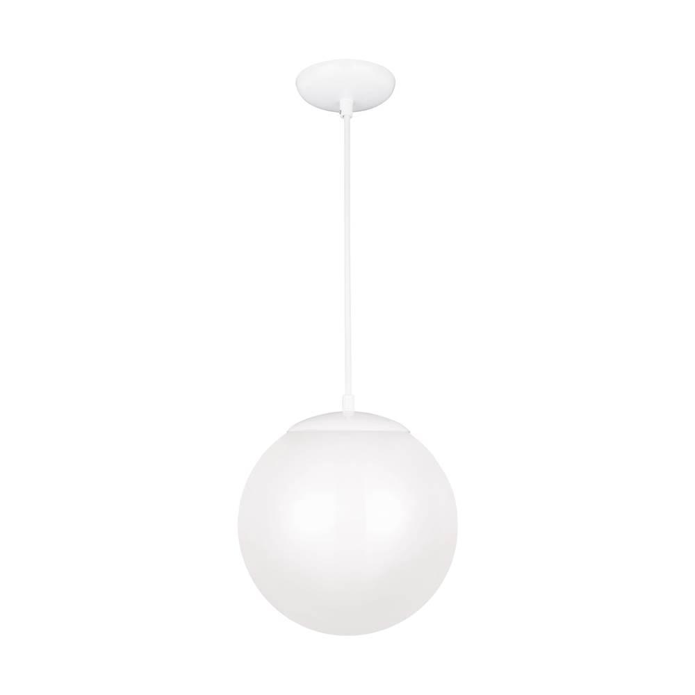 Sea Gull Lighting 602293S-15 Large LED Pendant White
