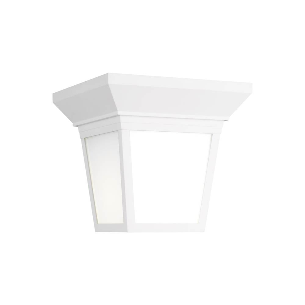 Generation Lighting One Light Outdoor Ceiling Flush Mount