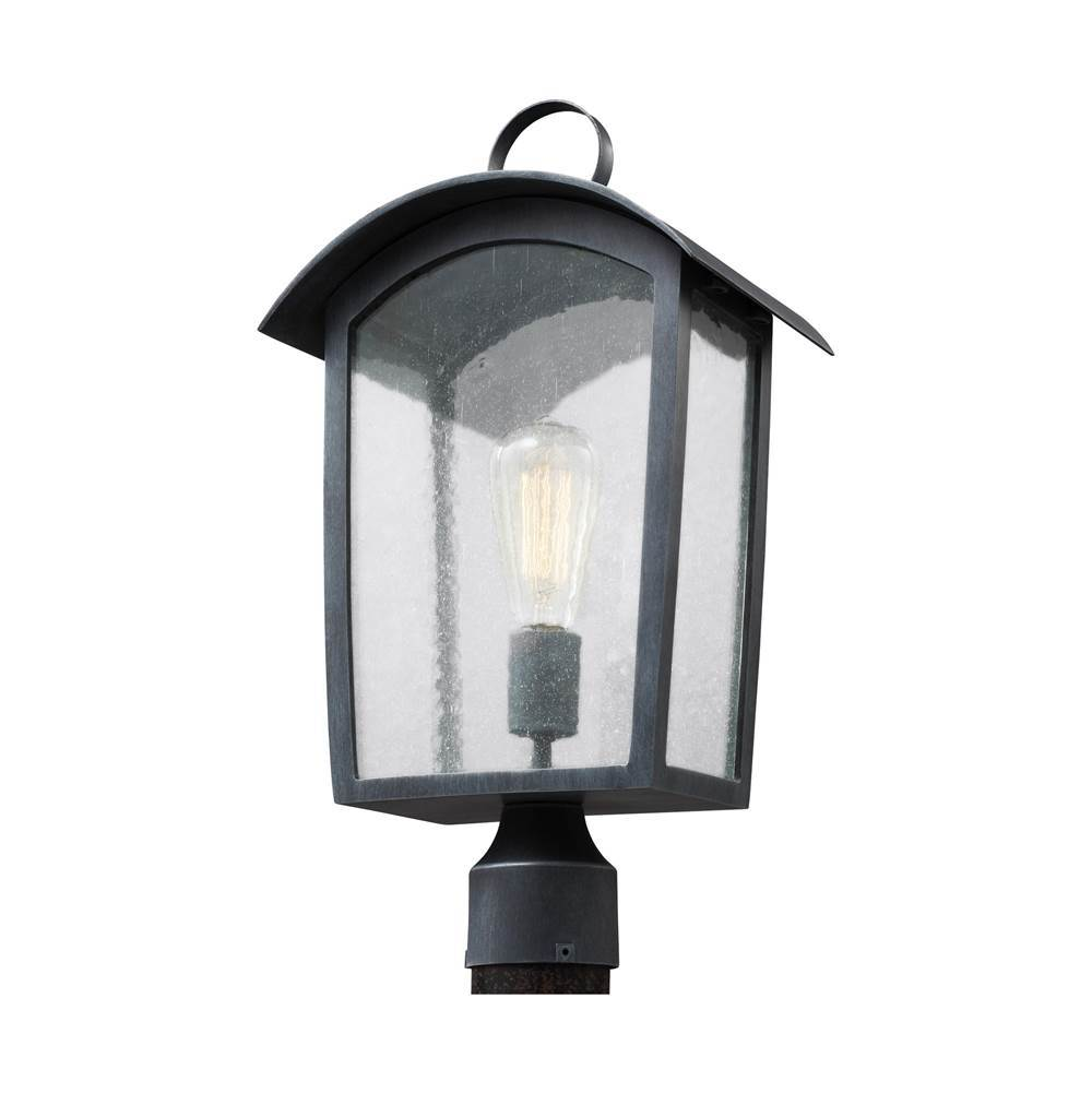 Generation Lighting Hodges 1 - Light Outdoor Post Lantern