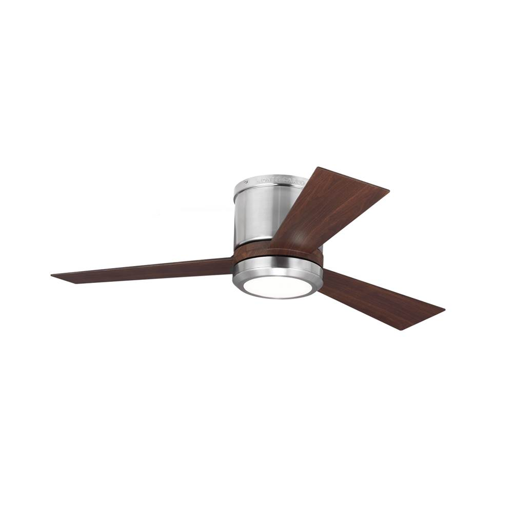 Monte Carlo Fans 42'' Clarity II - Brushed Steel