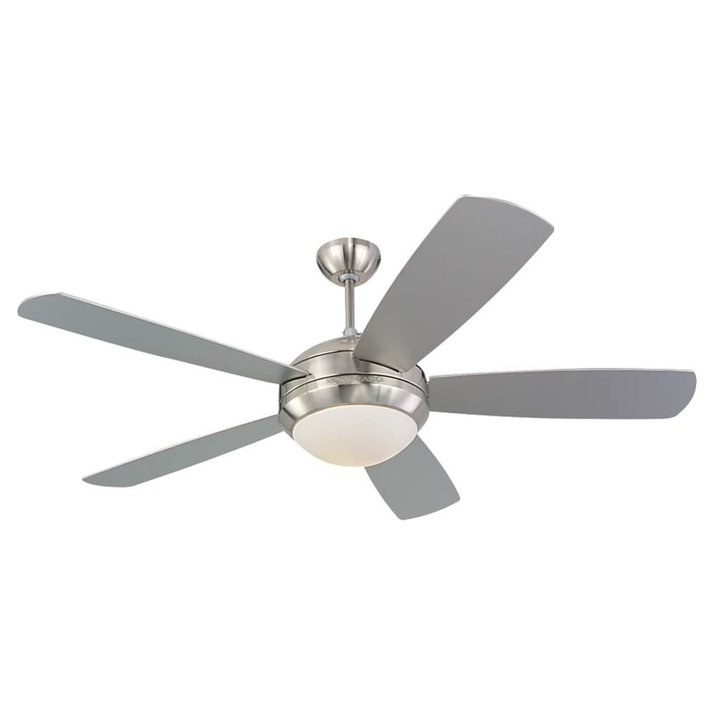 Monte carlo fans 5di52bsd l at sea gull lighting store modern indoor monte carlo fans 5di52bsd l at sea gull lighting store modern indoor ceiling fans ceiling fans in a decorative brushed steel finish aloadofball Images