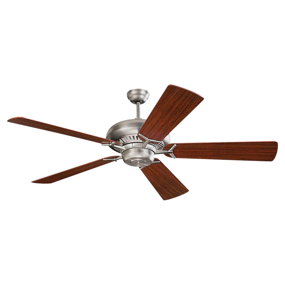 Monte Carlo Fans 60'' Grand Prix Fan - Brushed Steel