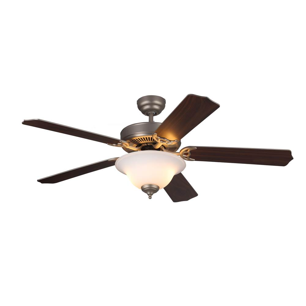 Monte Carlo Fans 52'' Homeowner''S Deluxe Fan - Brushed Pewter