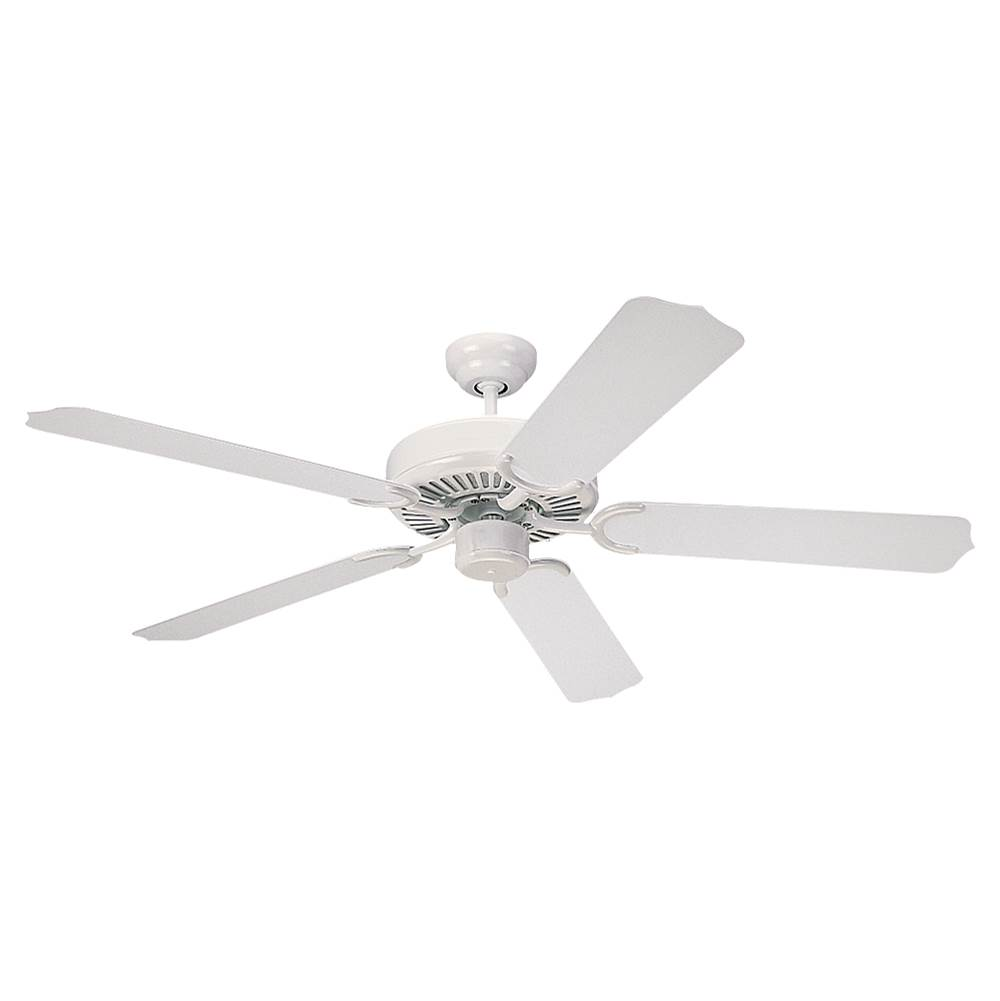 Monte Carlo Fans 5wf52wh 52 Weatherford Outdoor Fan White