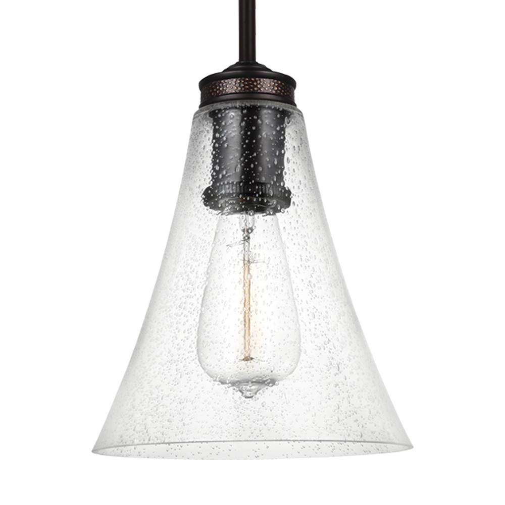 Ceiling lighting pendant lighting mini pendants sea gull 16300 p1427orb feiss lighting 1 light mini pendant arubaitofo Choice Image