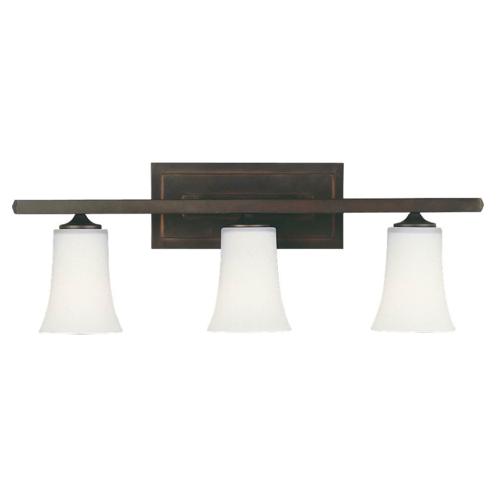 Wall Lighting Bathroom Lights Three Light Vanity | Sea Gull Lighting ...