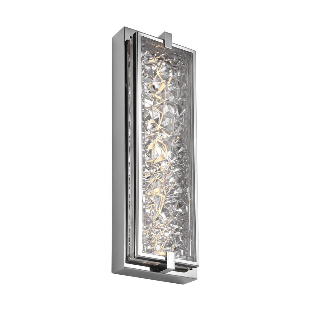 Feiss Lighting   WB1866PST LED   19u0027u0027 Tall LED Indoor / Outdoor Wall Sconce