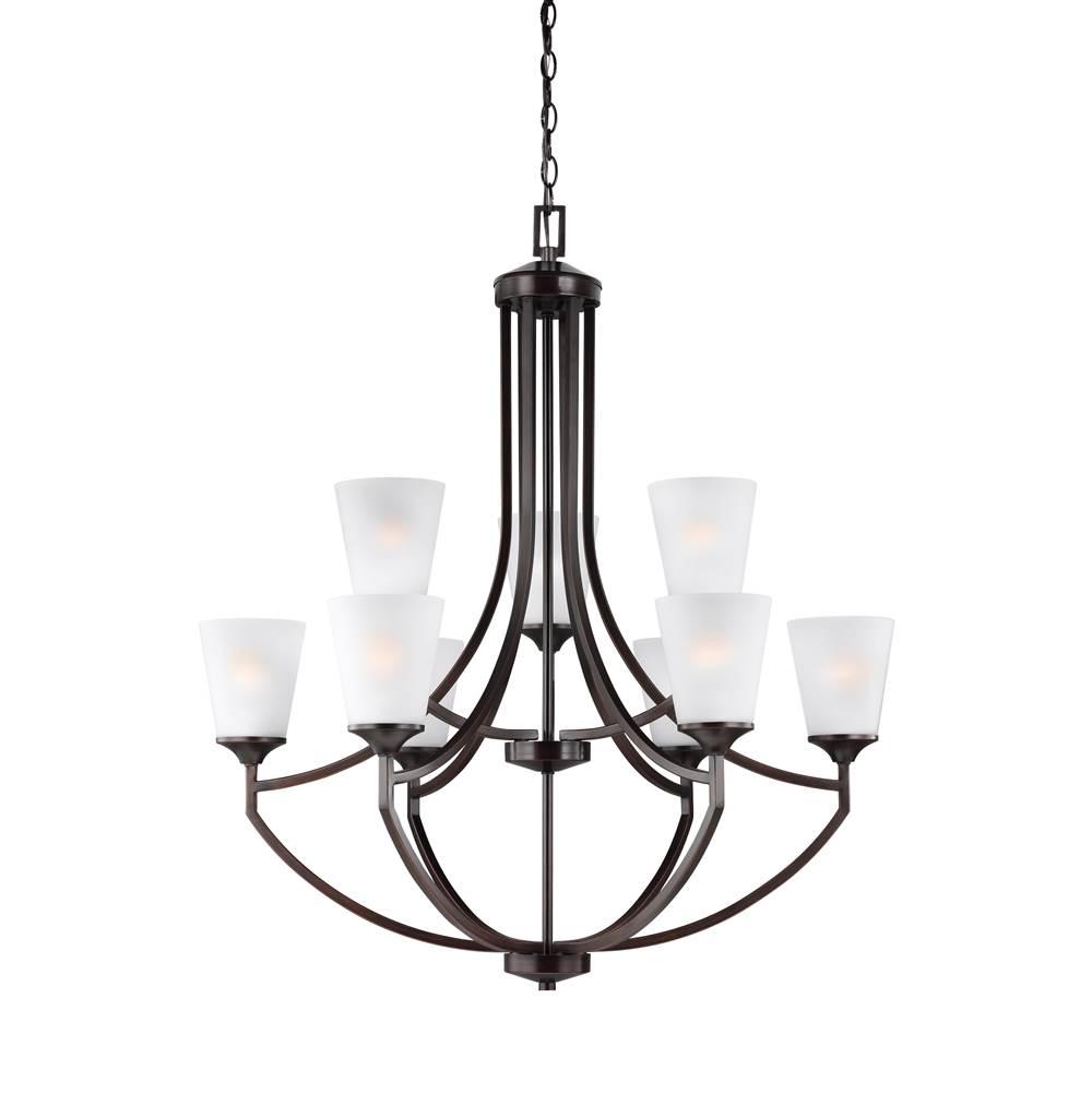 sea gull lighting store sea gull lighting 3124509 710 nine light. Black Bedroom Furniture Sets. Home Design Ideas