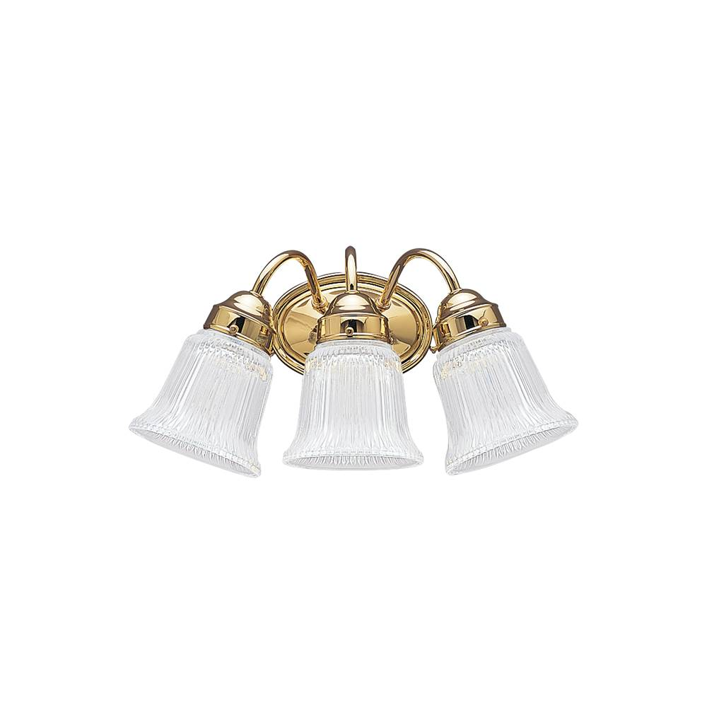 Bathroom Vanity Light Diffuser wall lighting bathroom lights three light vanity brass tones | sea
