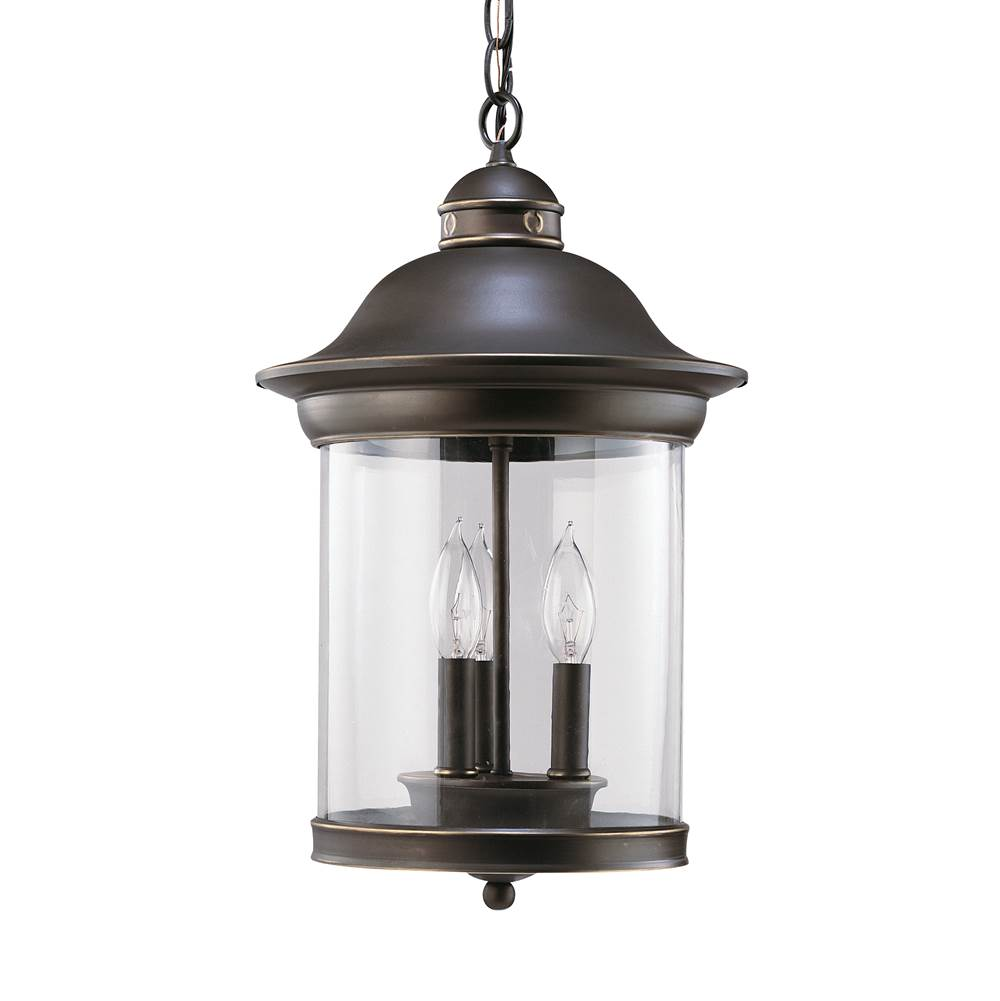 Sea Gull Lighting 60081 71 Three Light Outdoor Pendant