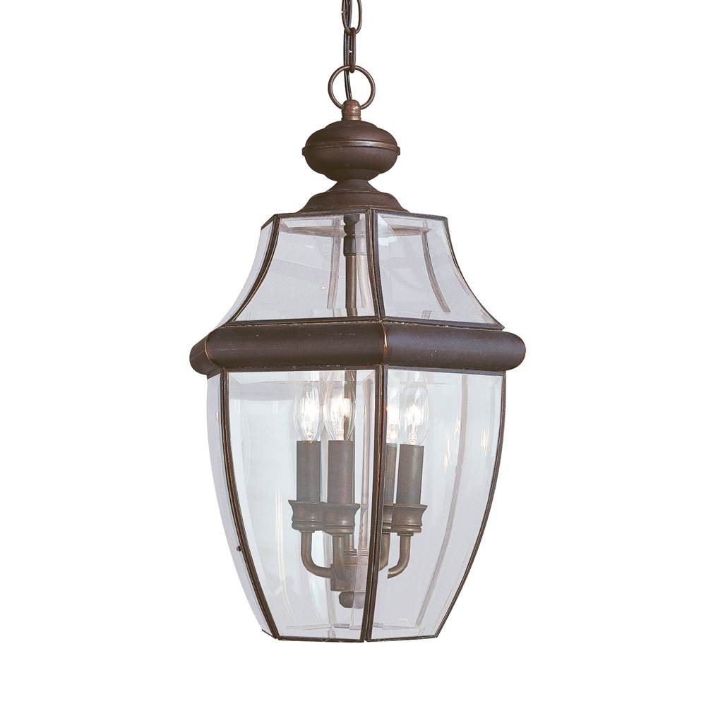 Sea gull lighting 6039 71 three light outdoor pendant
