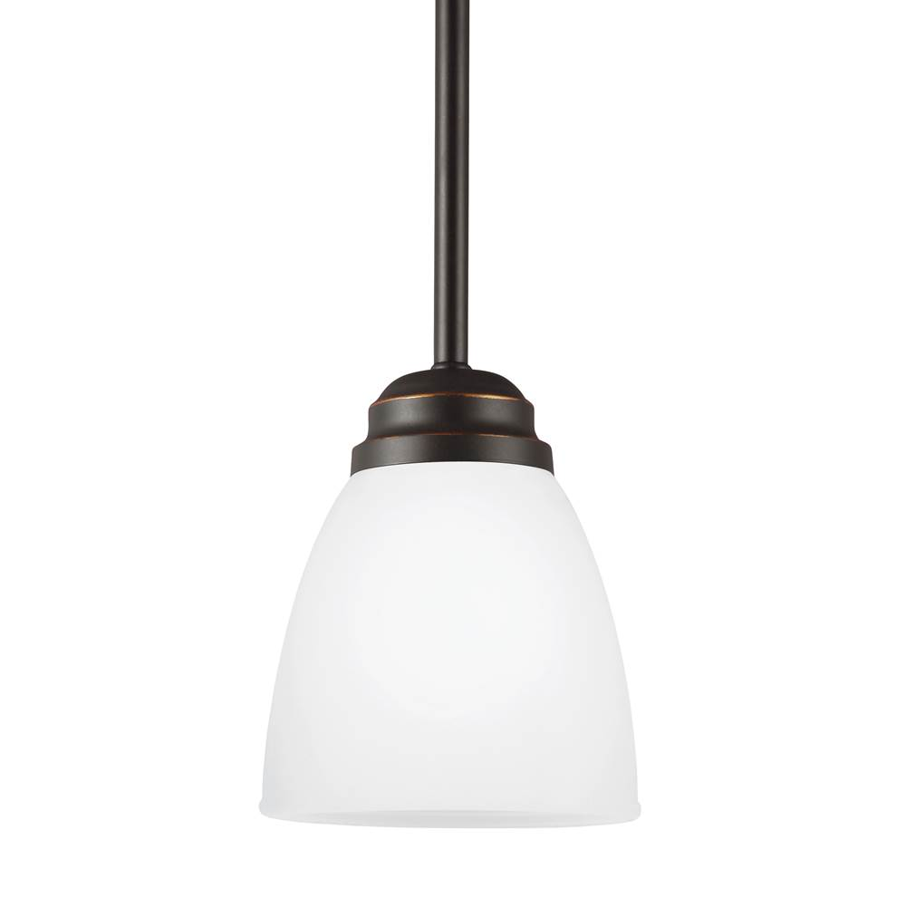 Sea Gull Lighting   6112401EN 191   One Light Mini Pendant
