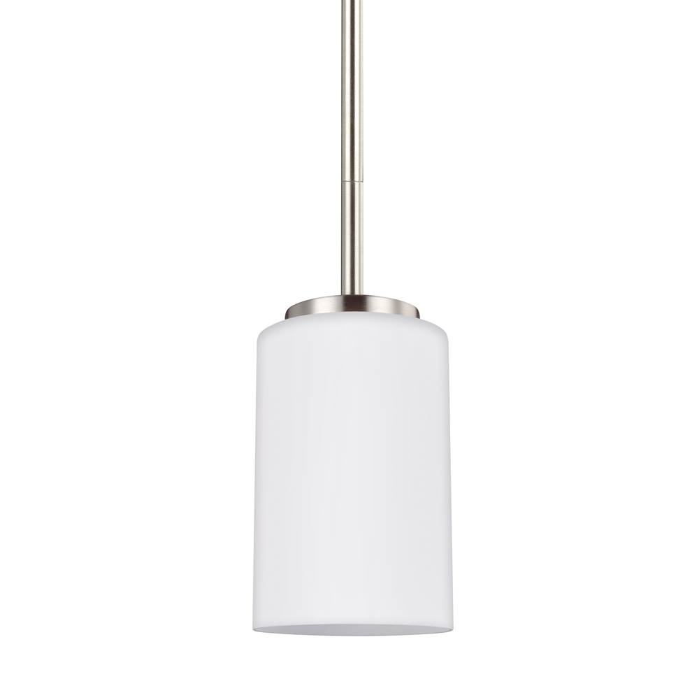 Sea Gull Lighting   61160 962   One Light Mini Pendant