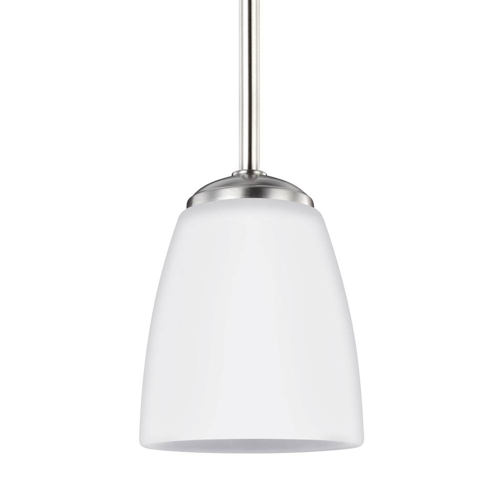 Sea Gull Lighting   6116601 962   One Light Mini Pendant