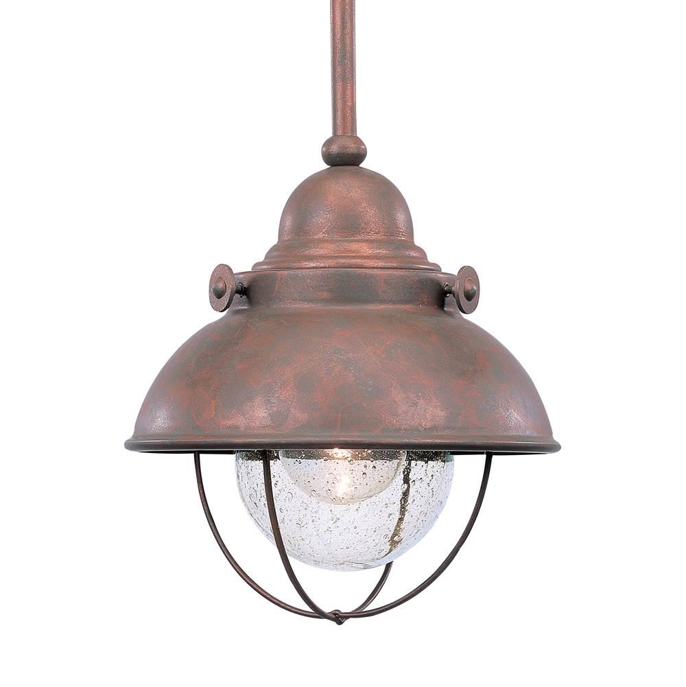 Outdoor lighting outdoor lights pendants copper tones lighting 15680 21270 6150 44 sea gull lighting one light outdoor aloadofball Images