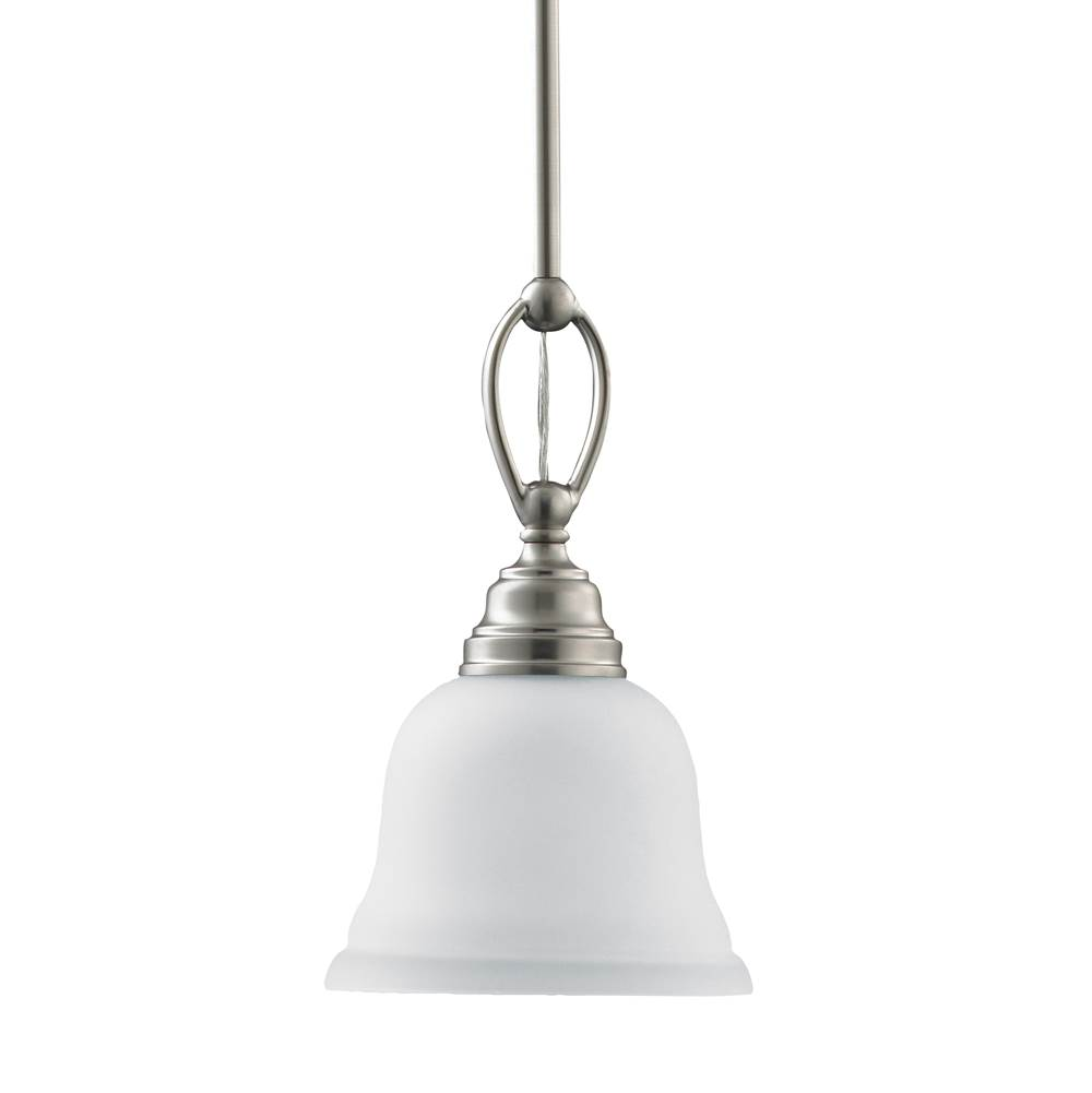 Sea Gull Lighting 61625 962 At Sea Gull Lighting Store Transitional Mini  Pendants Pendant Lighting In A Decorative Brushed Nickel Finish