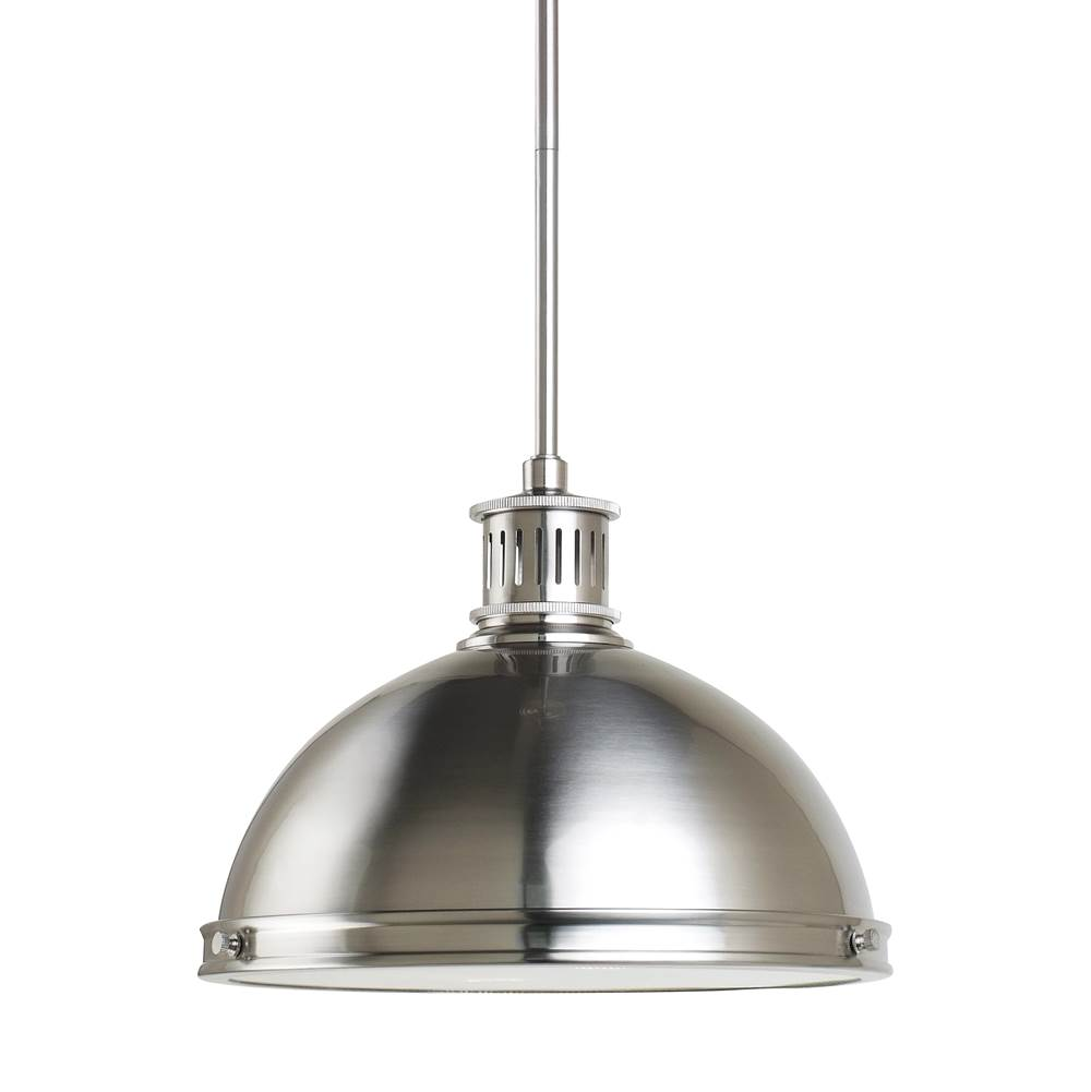 sea gull lighting at sea gull lighting store downlight pendant pendant lighting in a decorative brushed nickel finish - Sea Gull Lighting