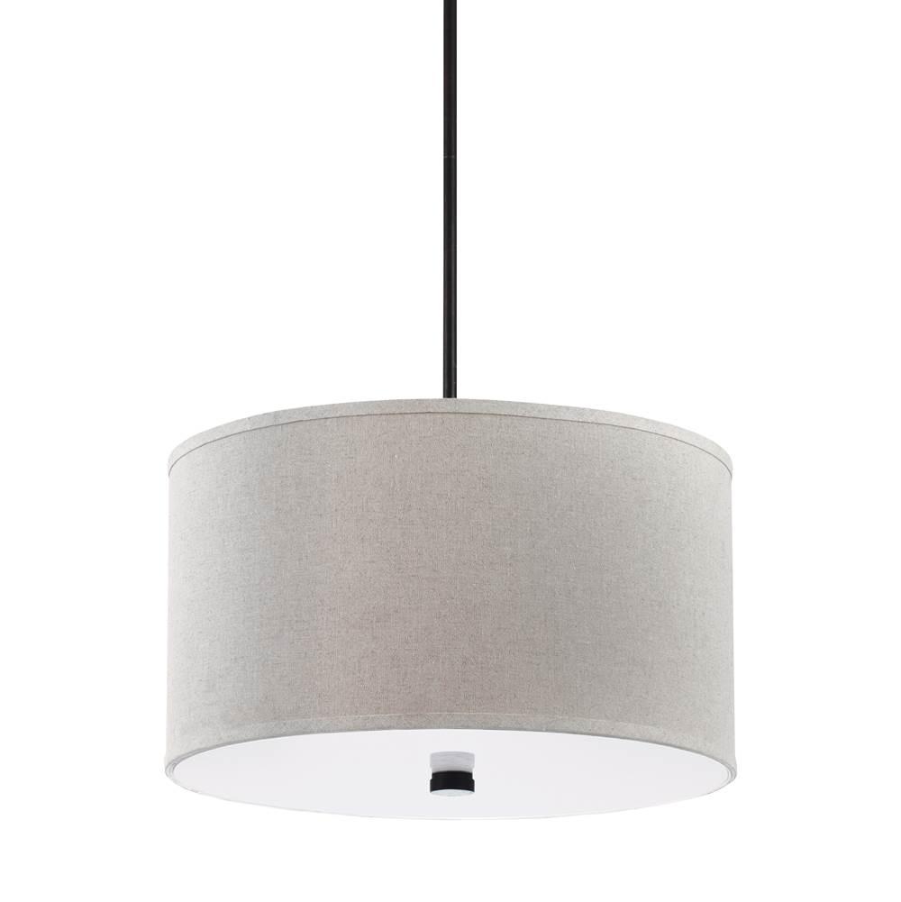 contemporary drum lighting sea gull lighting 65263710 three light pendant at store contemporary