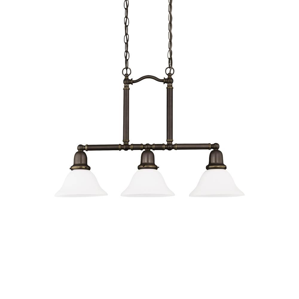 Sea Gull Lighting At Sea Gull Lighting Store Transitional - Three light island pendant