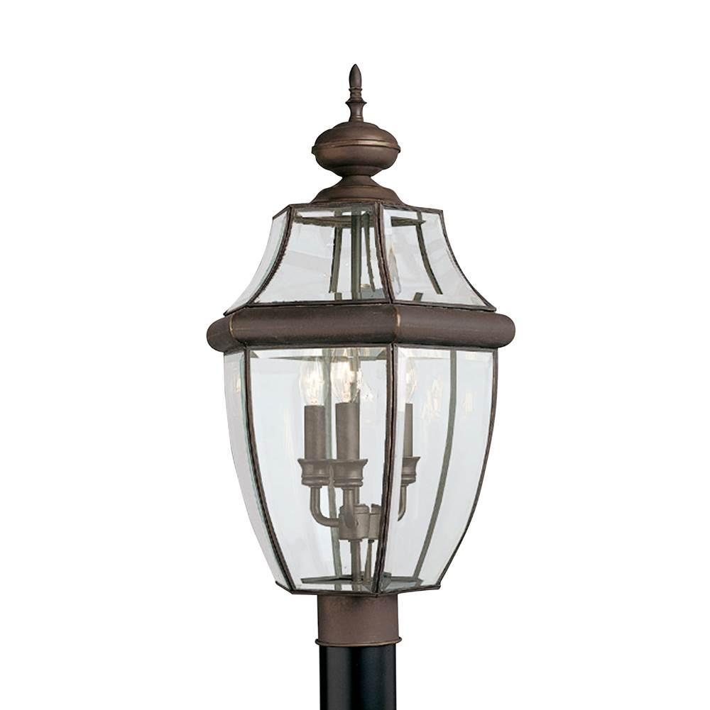 Sea gull lighting 8239 71 at sea gull lighting store traditional sea gull lighting 8239 71 three light outdoor post lantern aloadofball Images